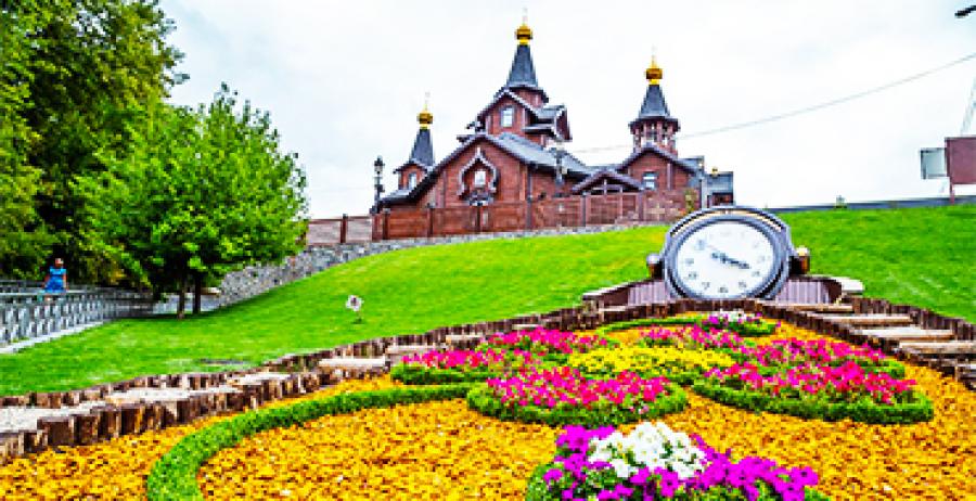 Gardens, squares and parks of Kharkov