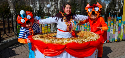 Poltava snacks. Wide Shrovetide in Poltava